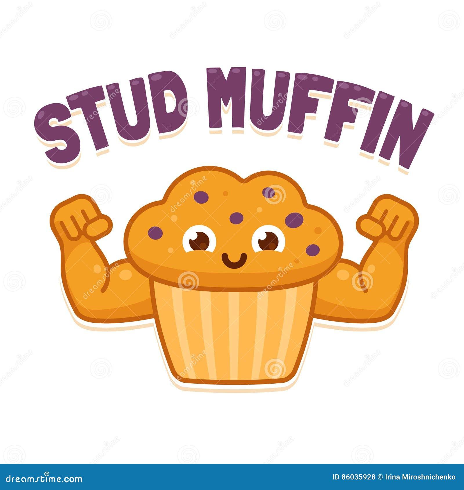 Cupcake Or Stud Muffin Cake