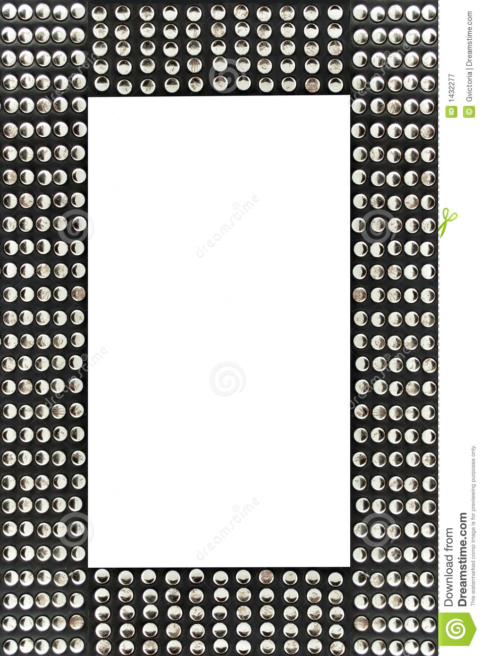 Studded Frame Royalty Free Stock Photography Image 1432277