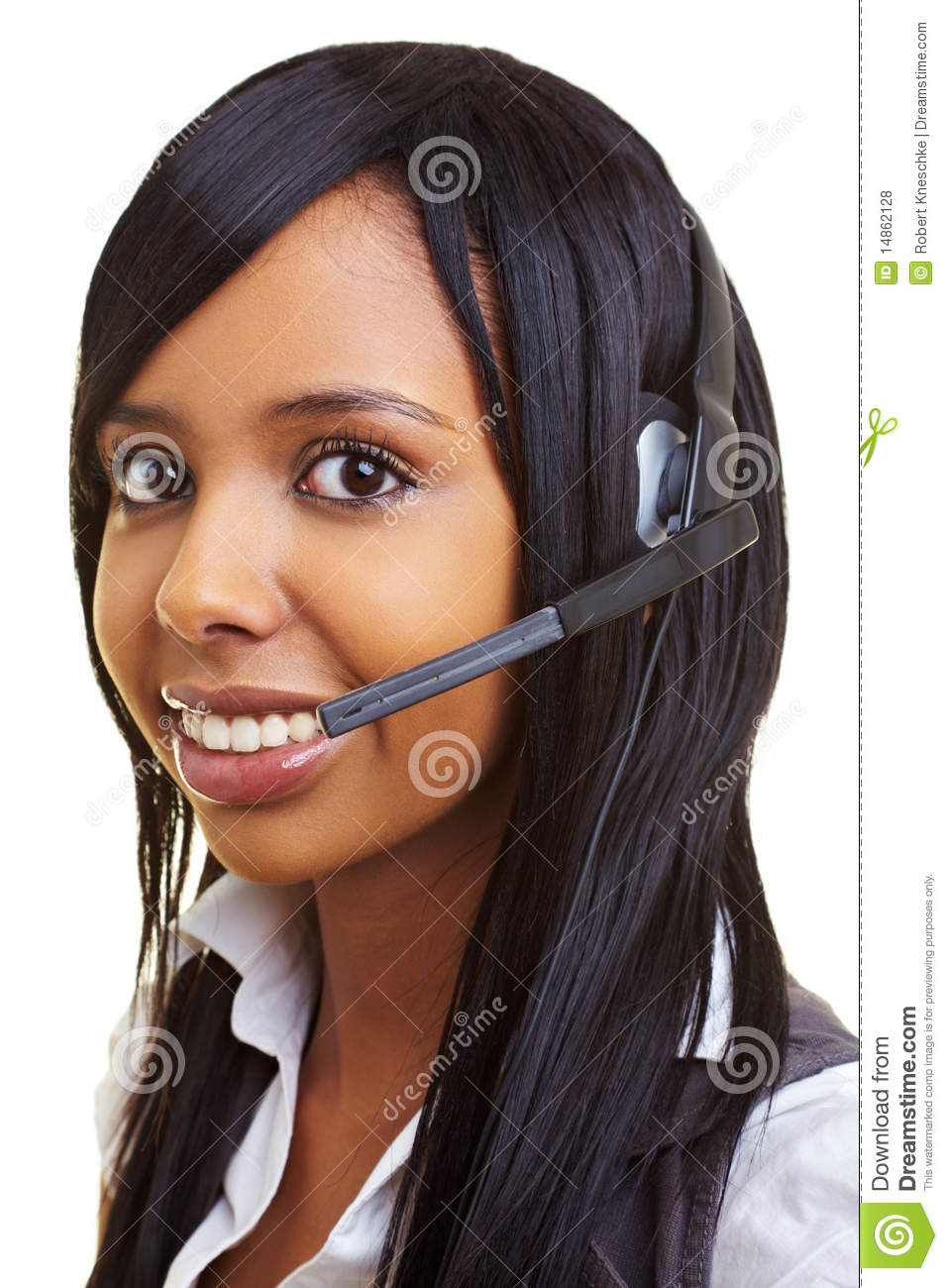 Student in a callcenter