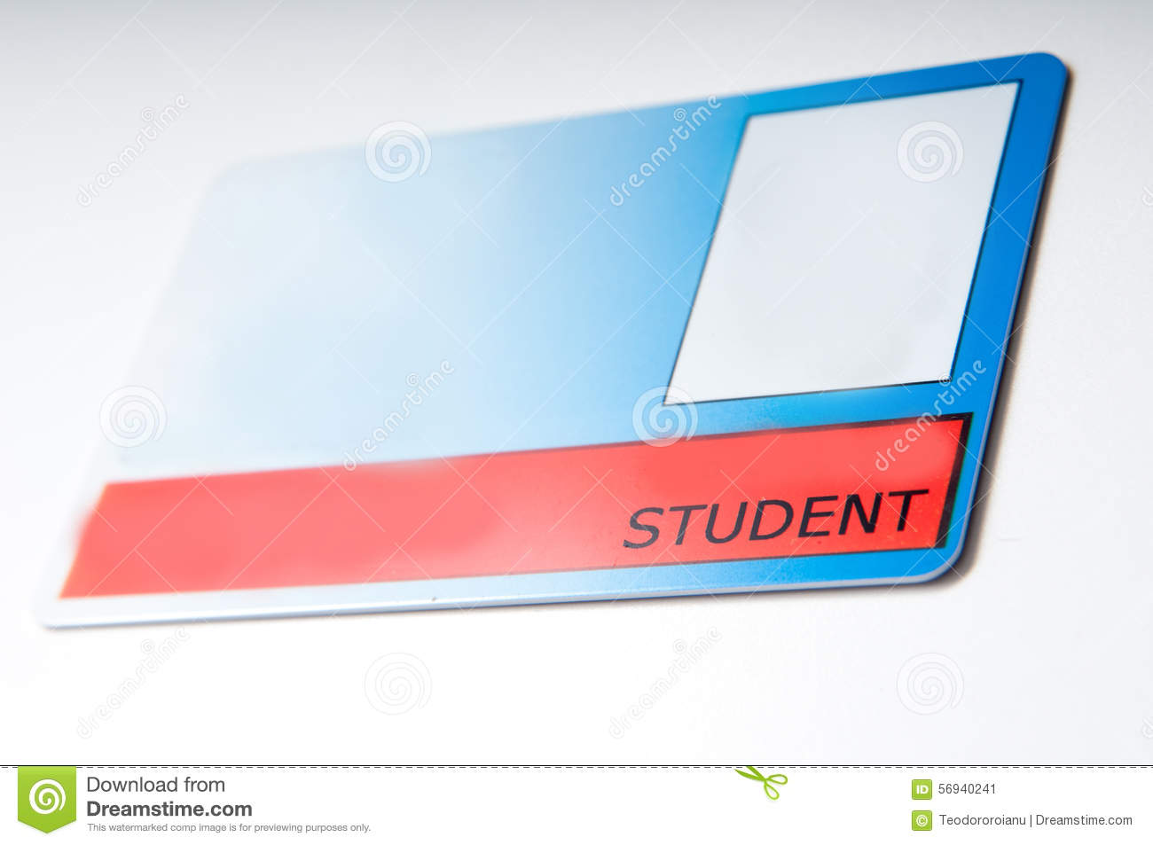 Student card stock image. Image of discounts, discount - 5