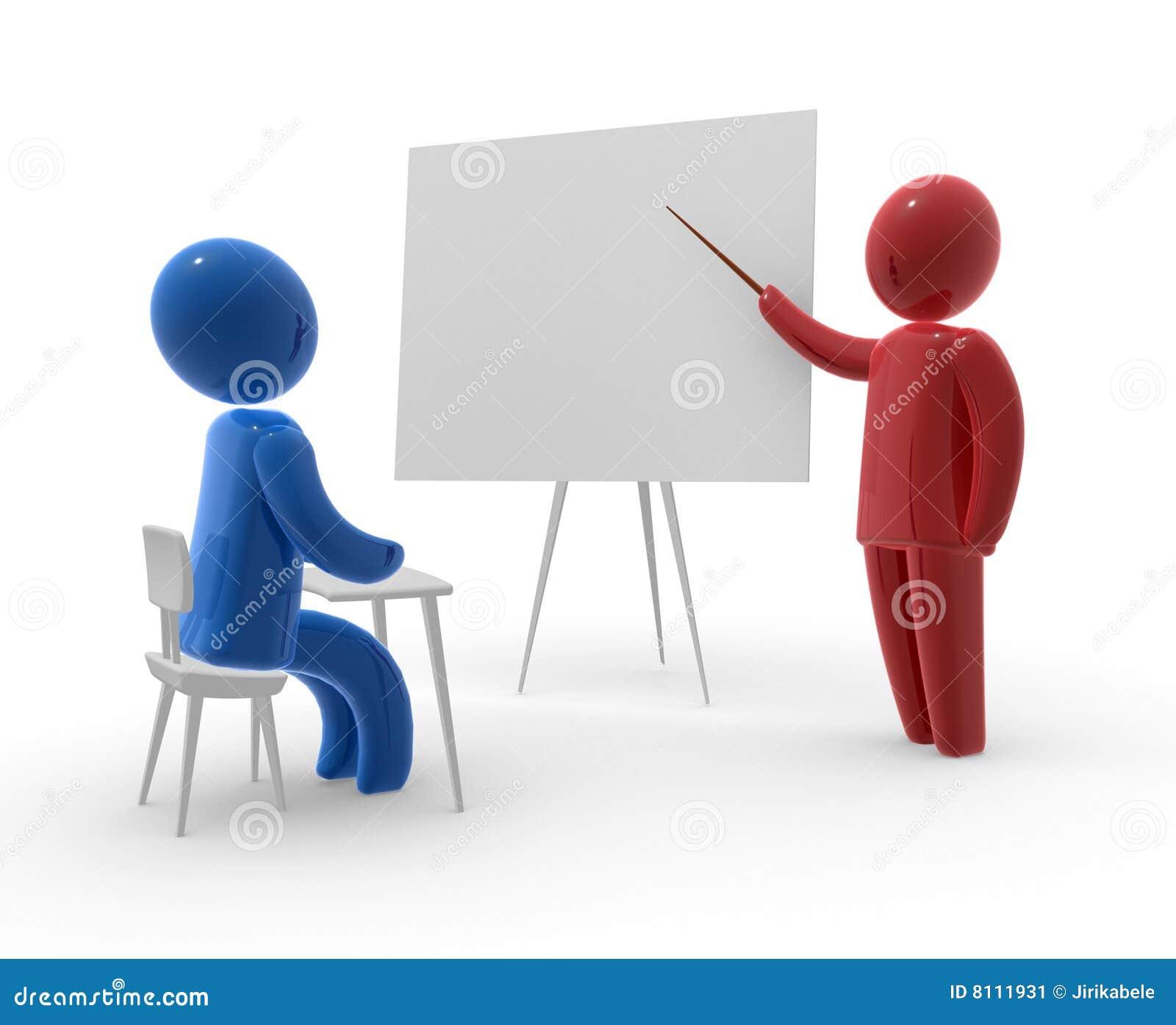 Student en leraar