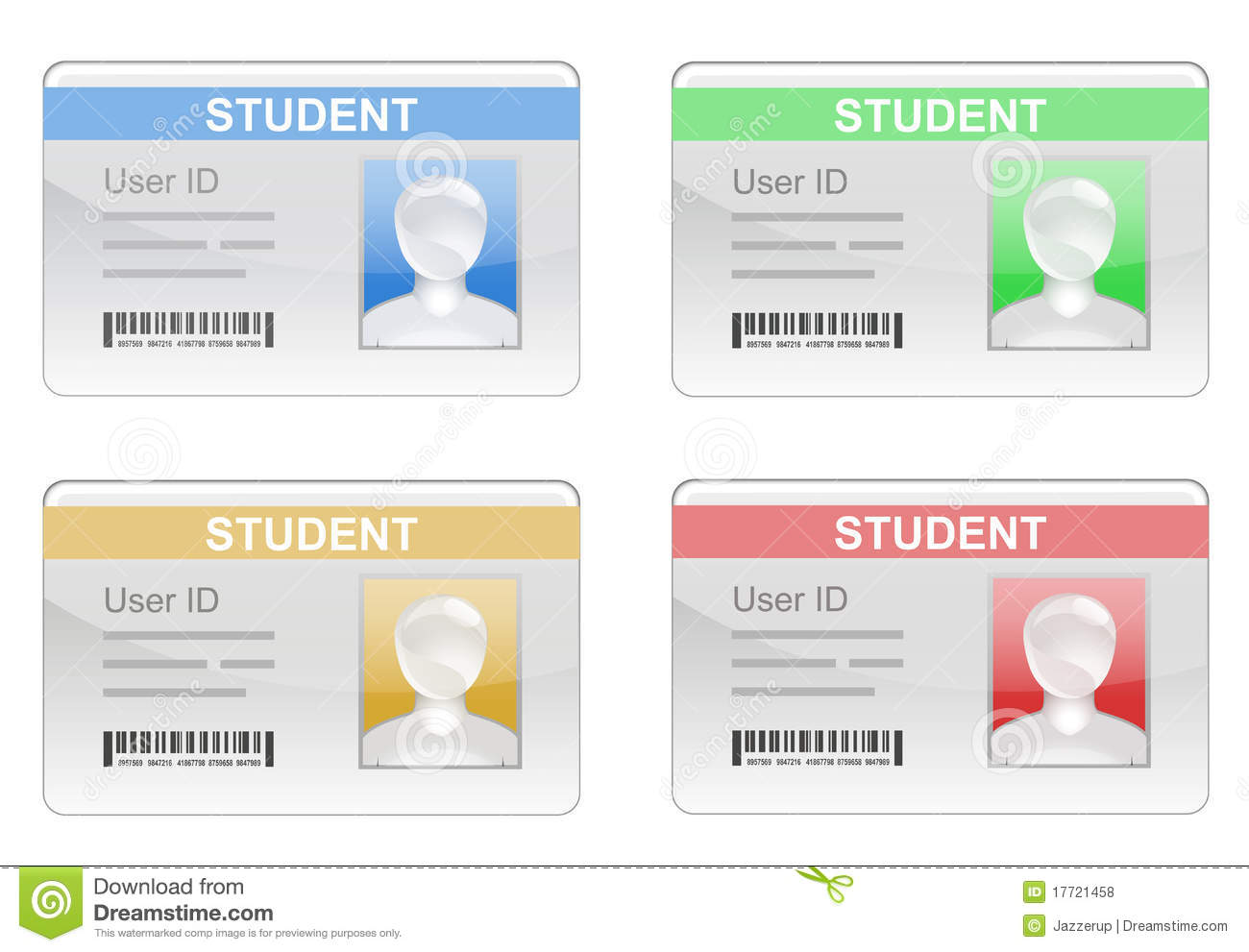 Student Id Card Royalty Free Stock Photos Image 17721458