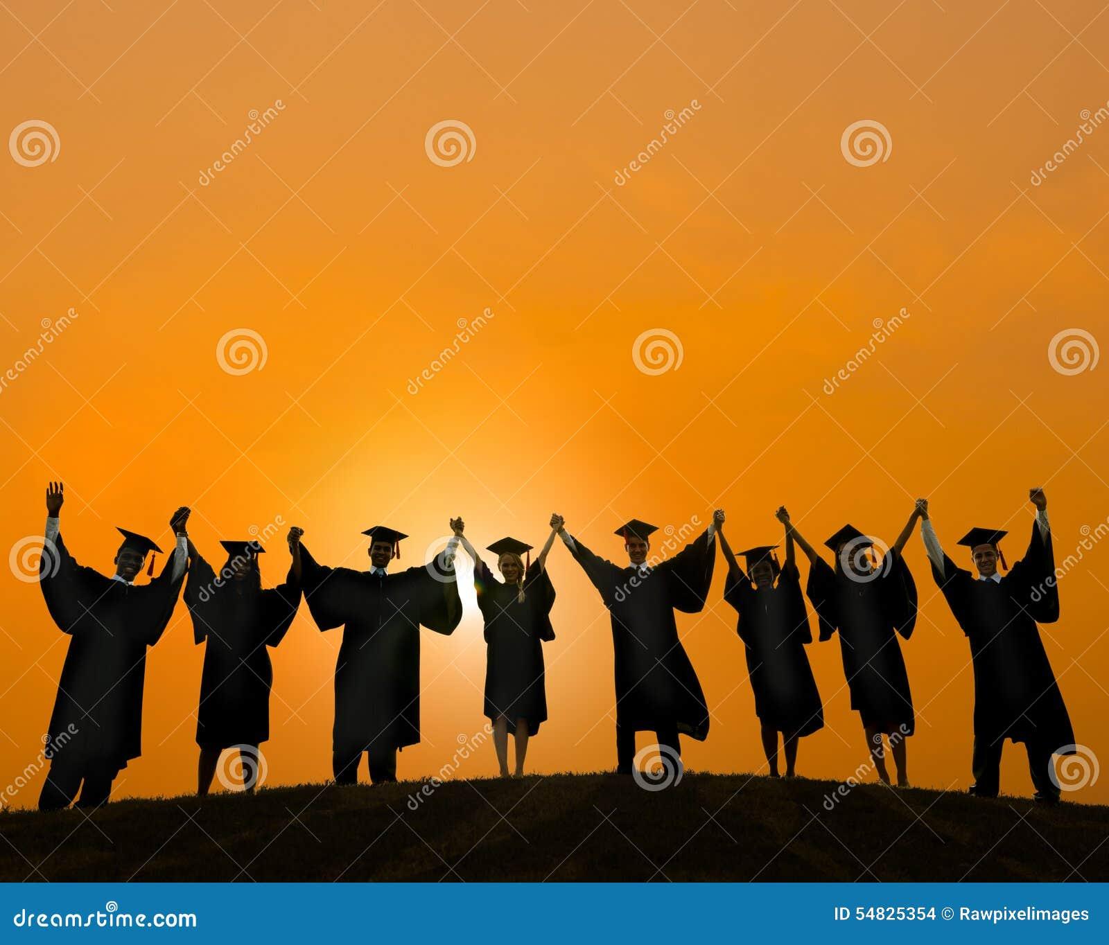 Student Learning Concept för berömutbildningsavläggande av examen