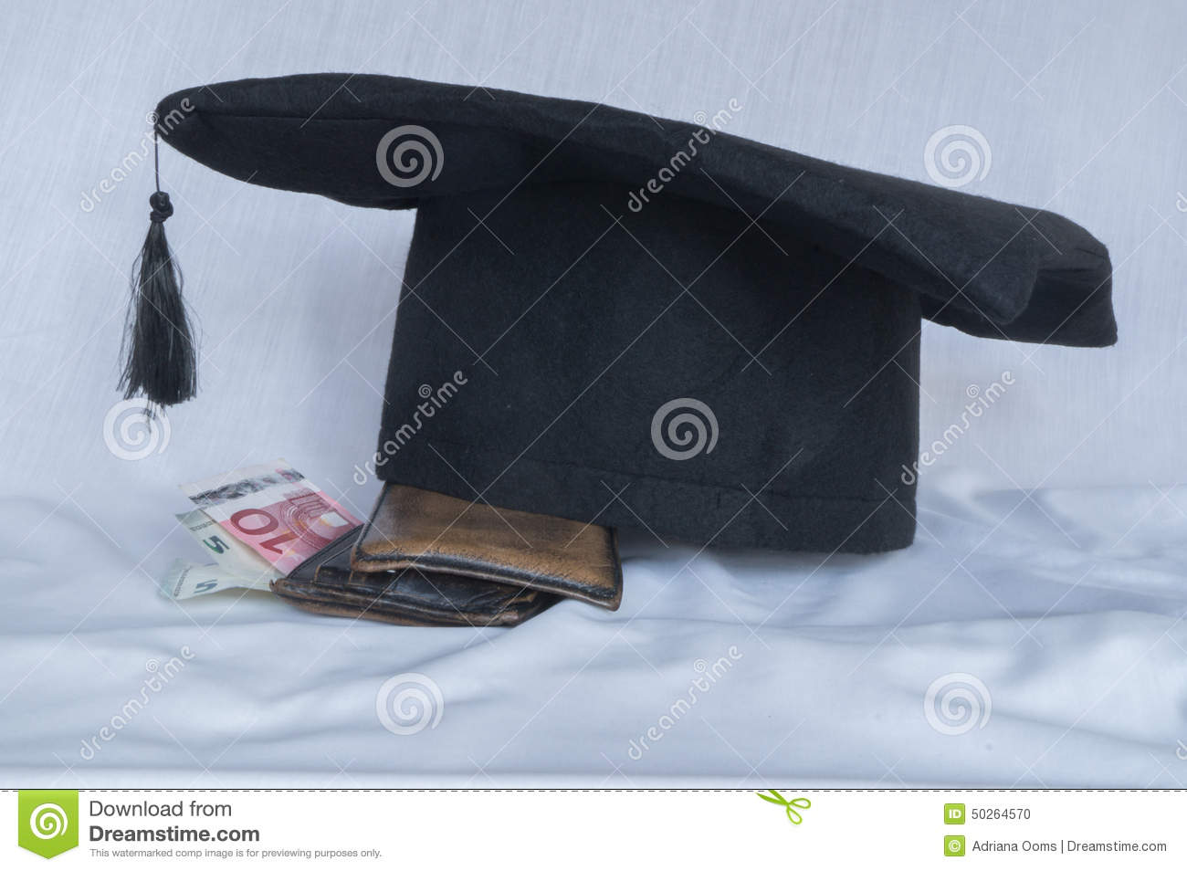 Student loan stock photo image