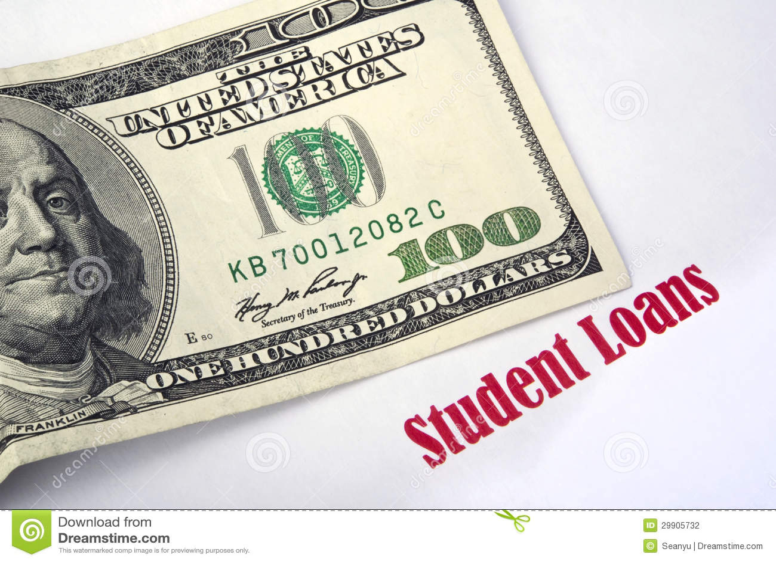 Student Loans Debt For Education Vector Illustration ...