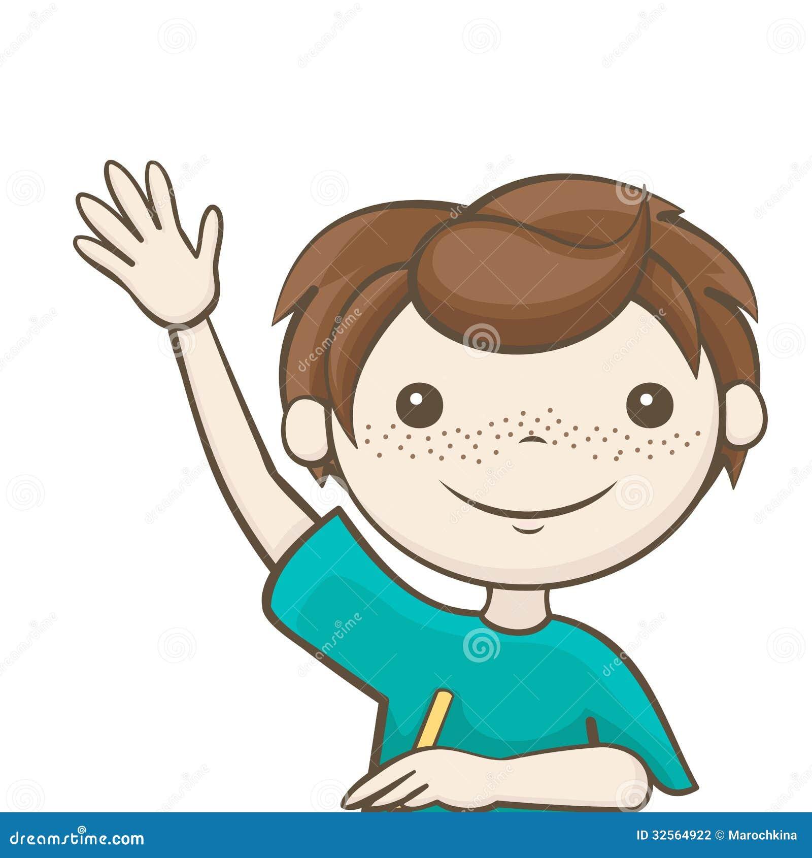 правило поднятой руки картинки