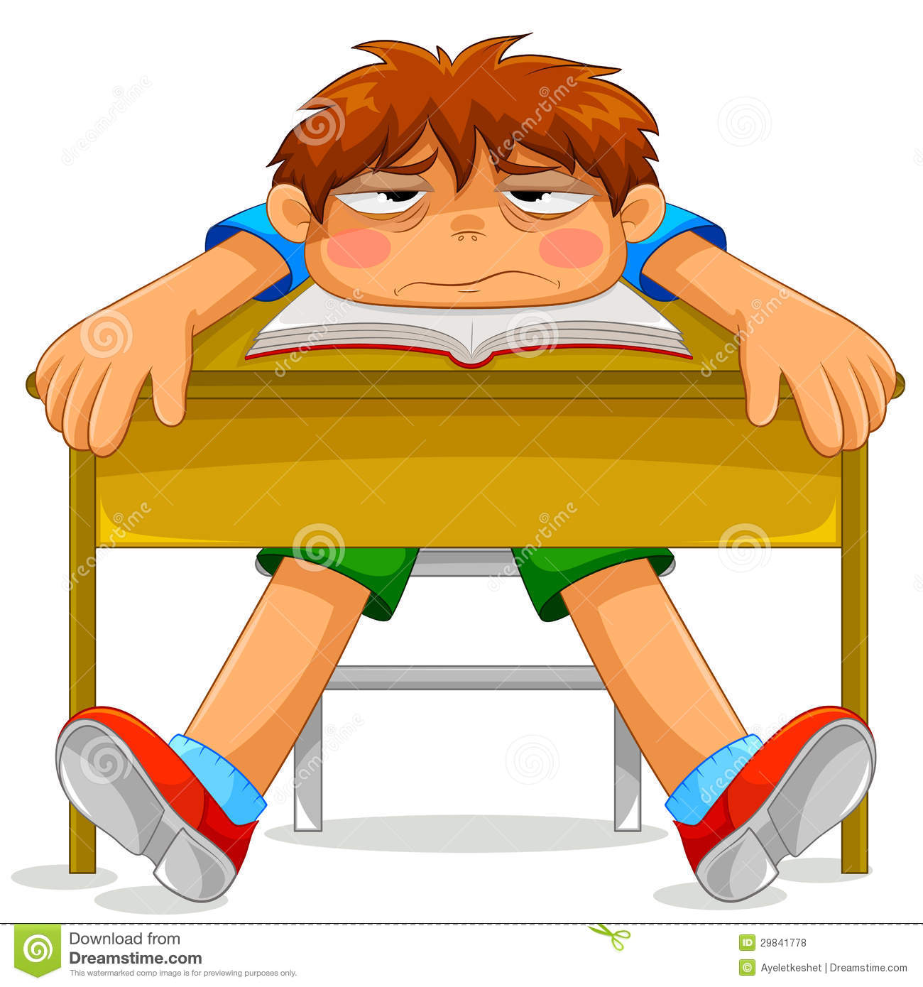 Miserable Student Royalty Free Stock Photos - Image: 29841778