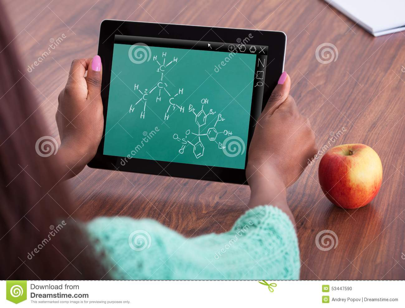 student solving chemistry problem at classroom stock photo image  student solving chemistry problem at classroom royalty stock photo