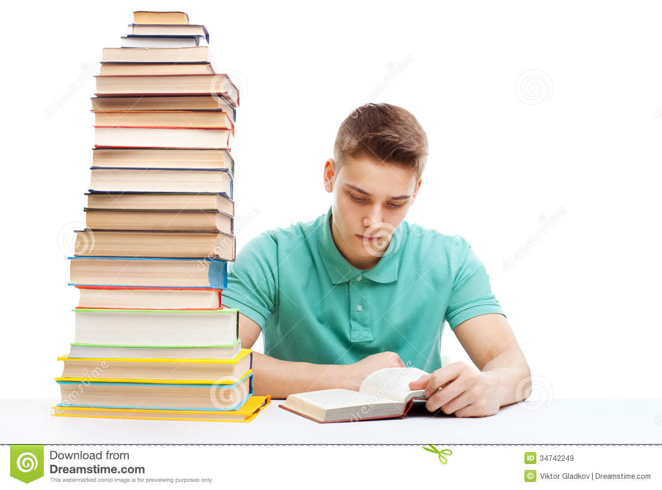 student studying at a table with a stack of books royalty wake up clipart wake up clip art images