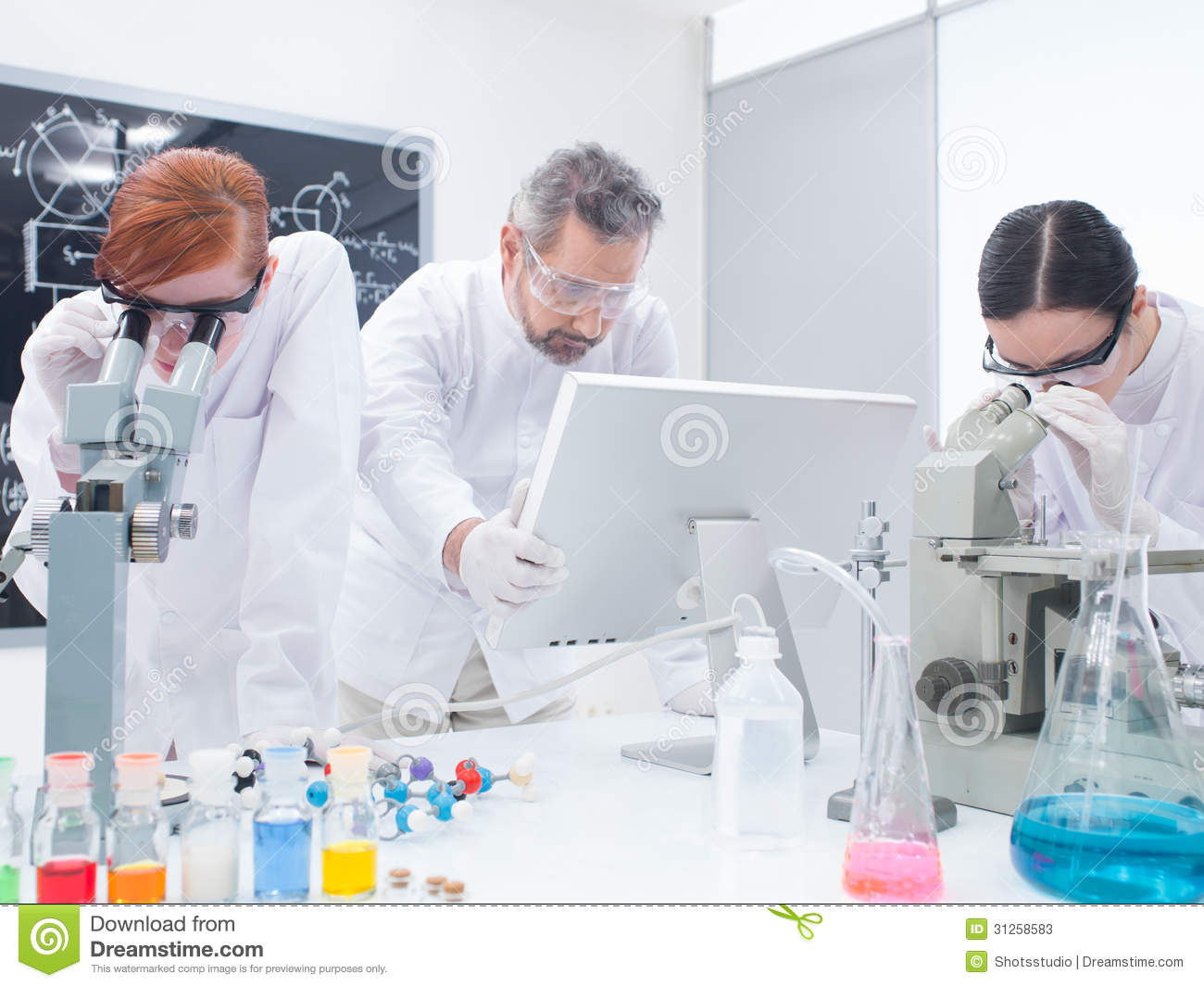 an analysis of the chemistry experiment In this experiment, we will make 3 simple toothpaste formulations and evaluate them, along with some.