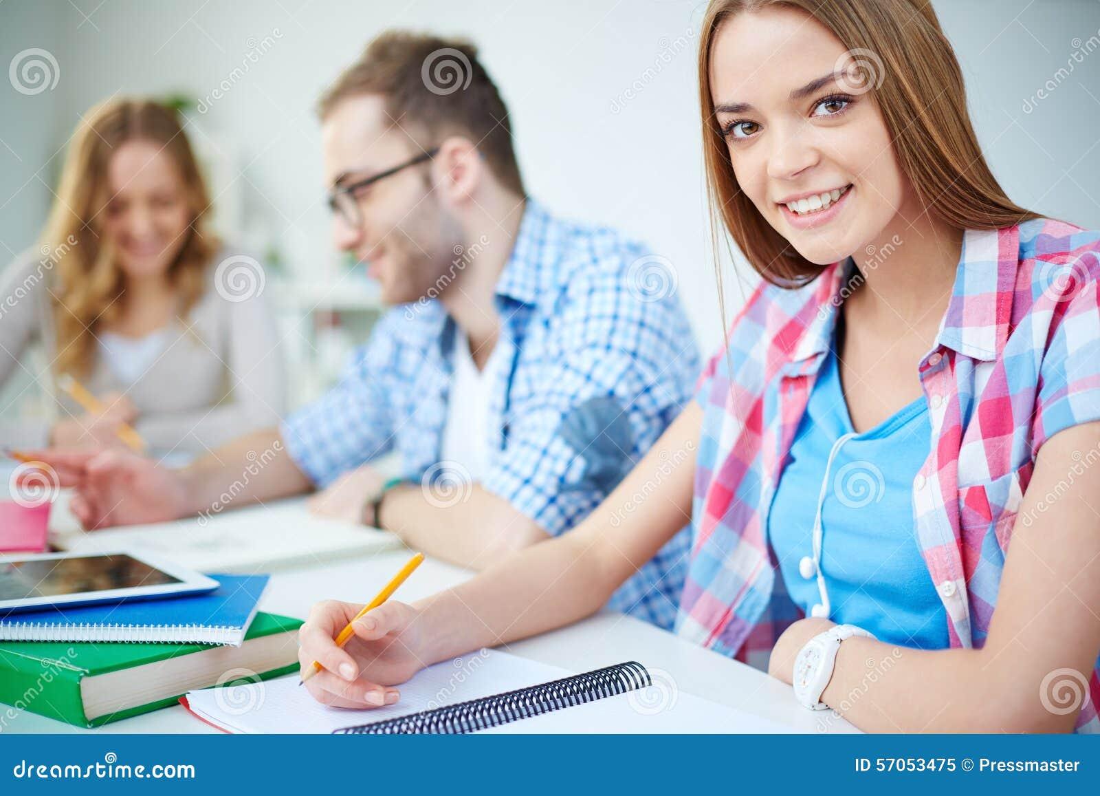Student van universiteit
