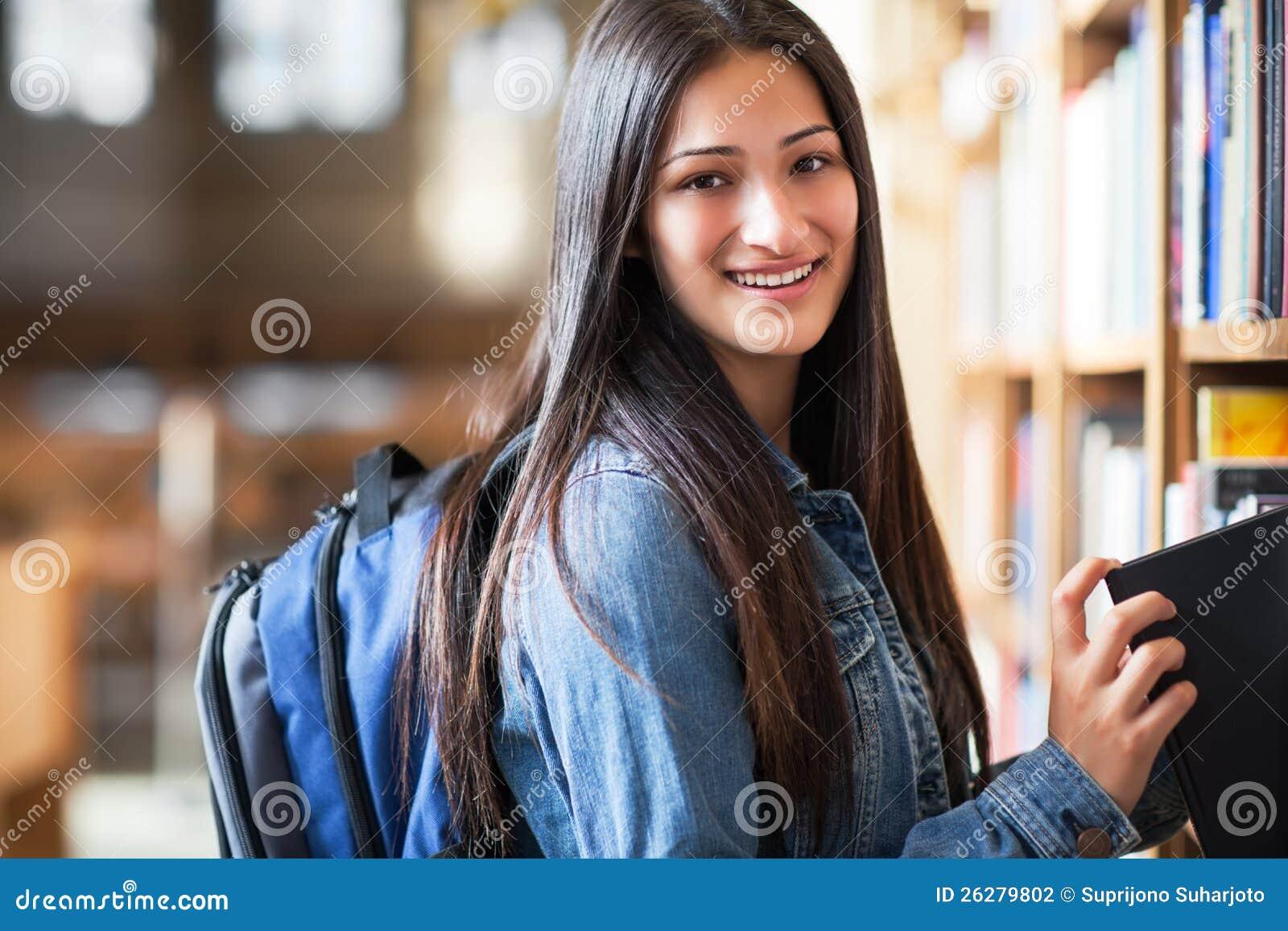 Studente di college ispanico