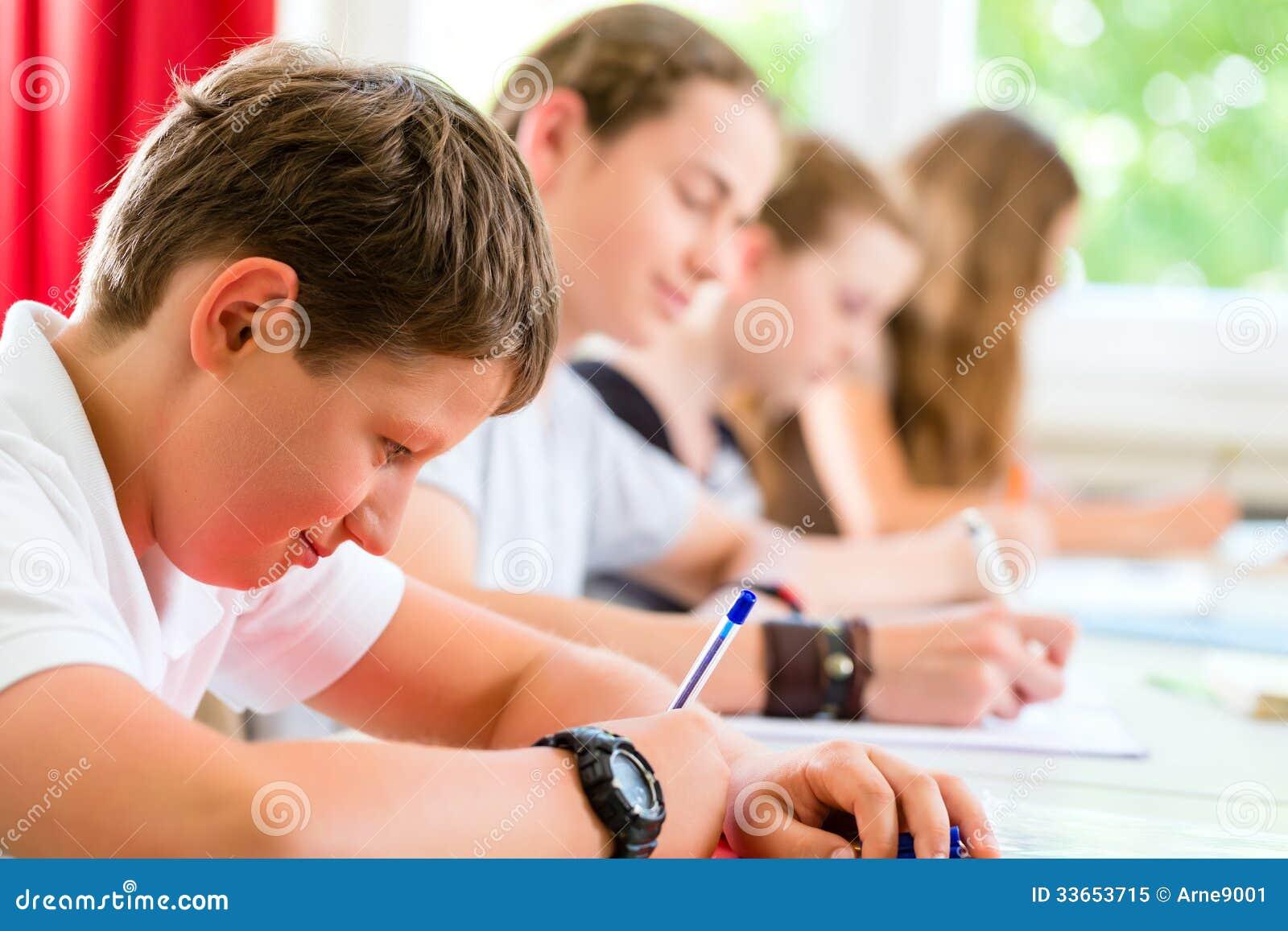 test schreiben