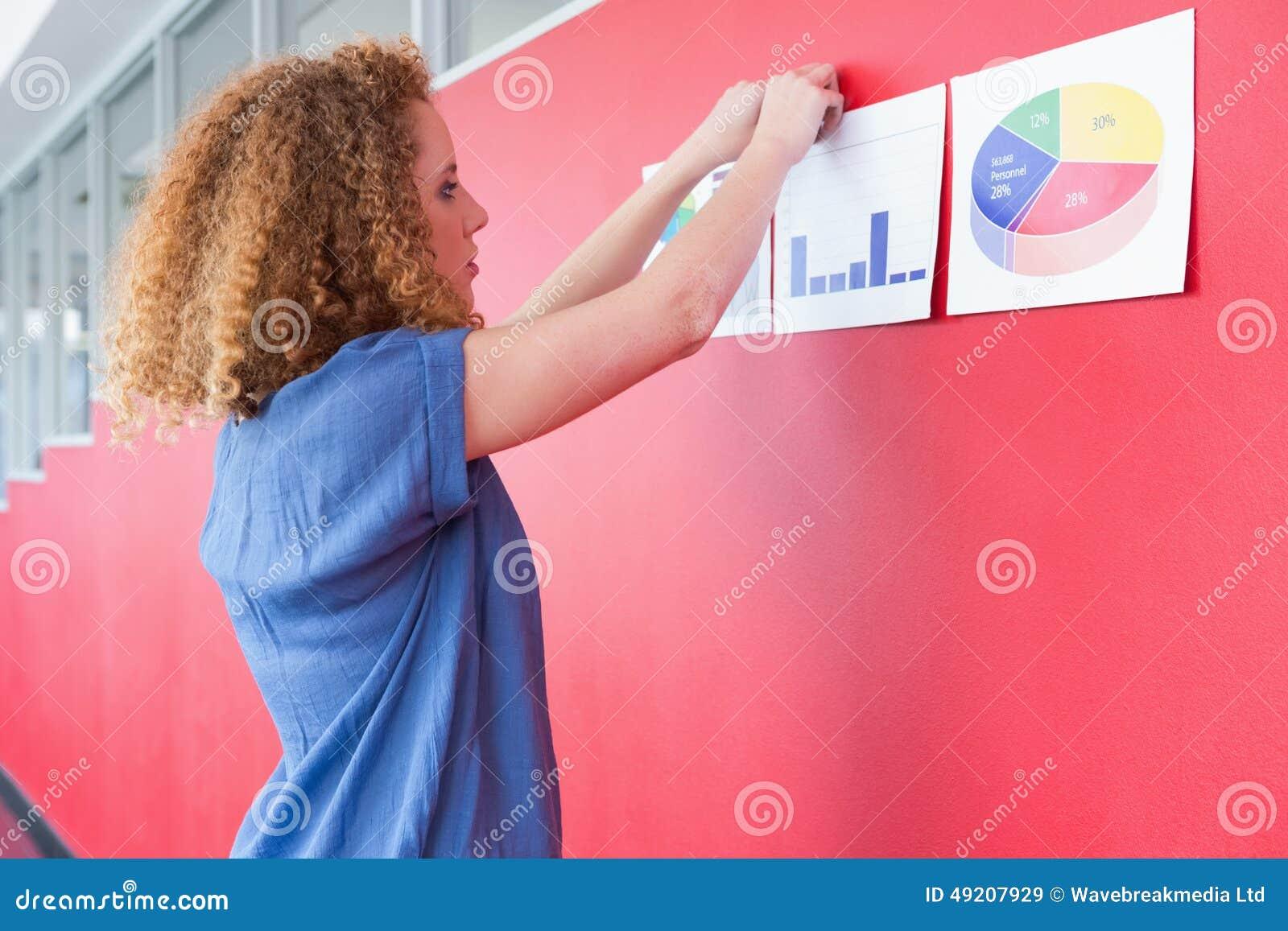 Studenten hungs document op de muur