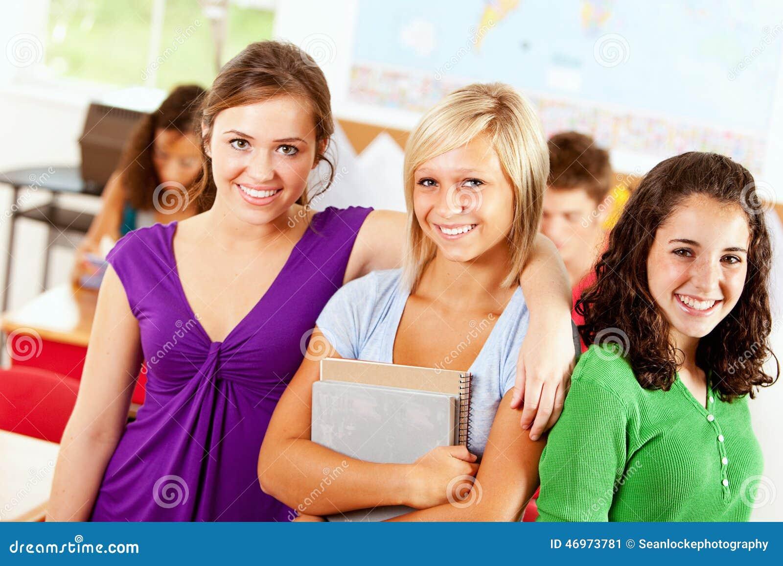College-Freundinnen