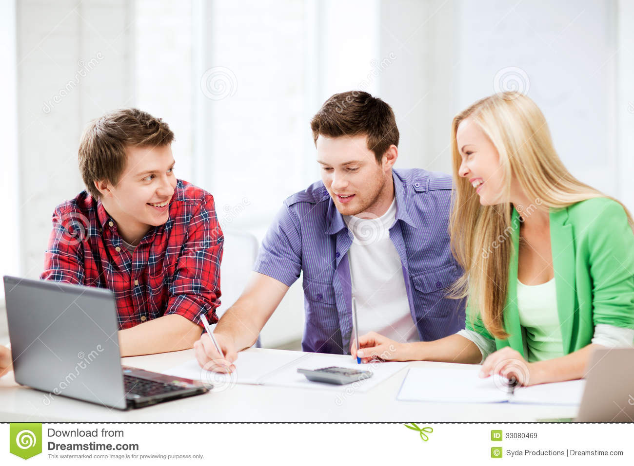 students chatting lecture school education concept smiling 33080469 - Deciding On No-Hassle Systems For essay shark reviewingwriting