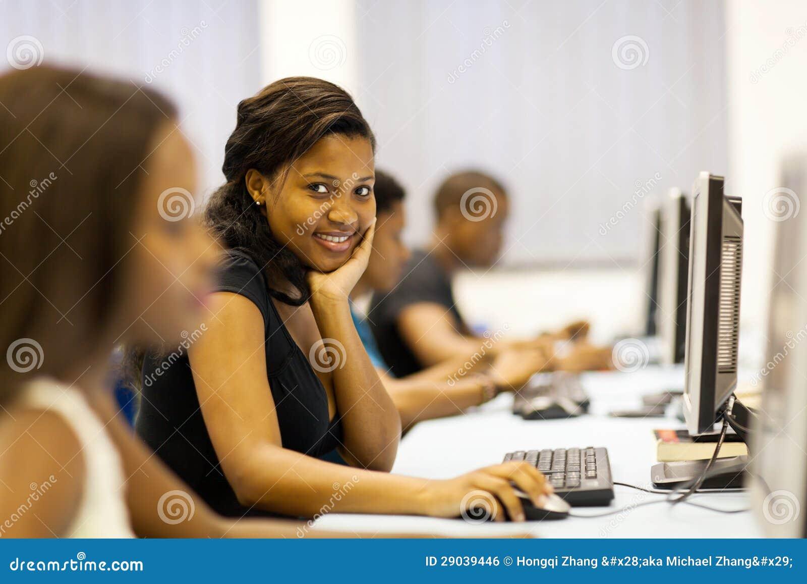 Students computer room