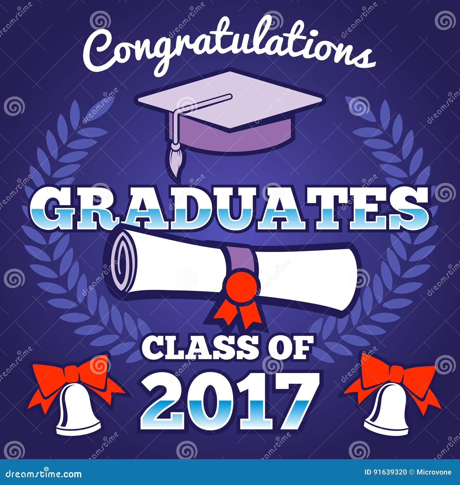 students congratulating graduation vector background graduates