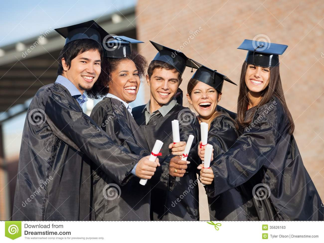 students in graduation gowns showing diplomas on stock clip art graduation hats in a line clip art graduation hats red