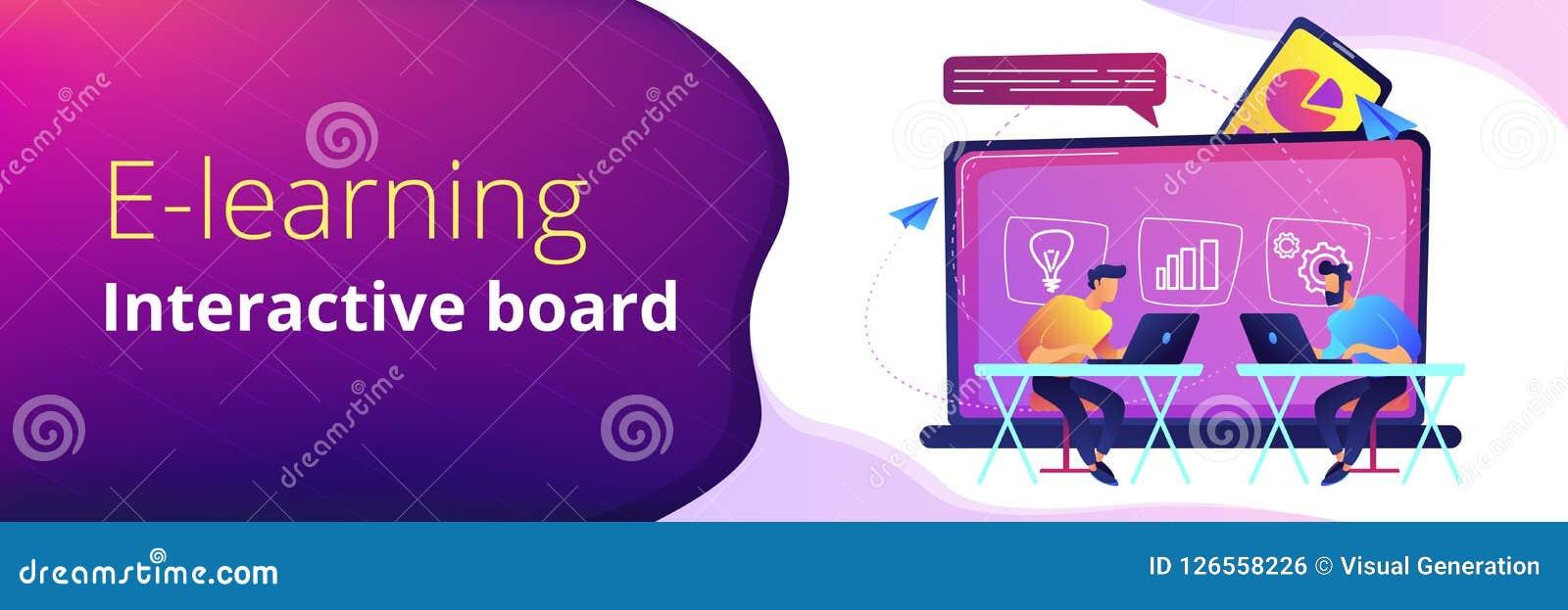 Digital Learning Header Or Footer Banner Stock Vector Illustration Of Header Learning 126558226
