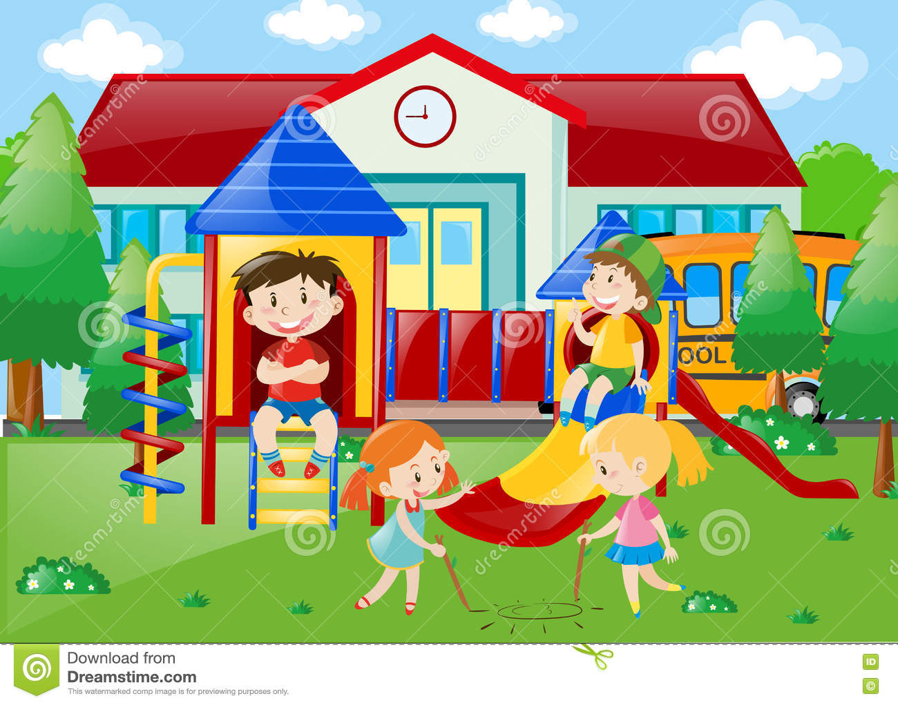 school recess clipart - photo #19