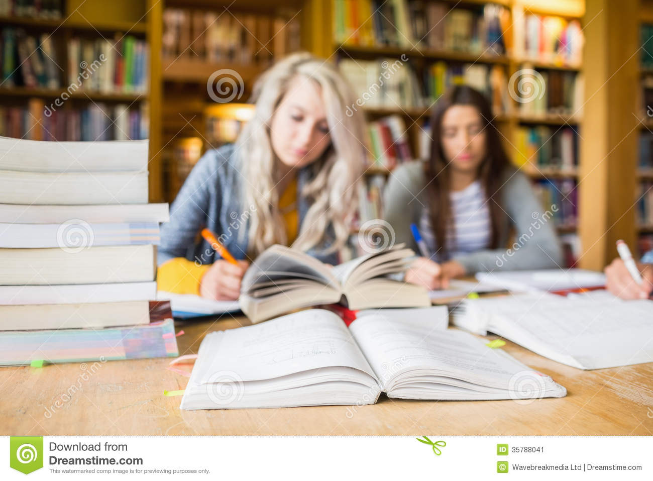 writing in library books