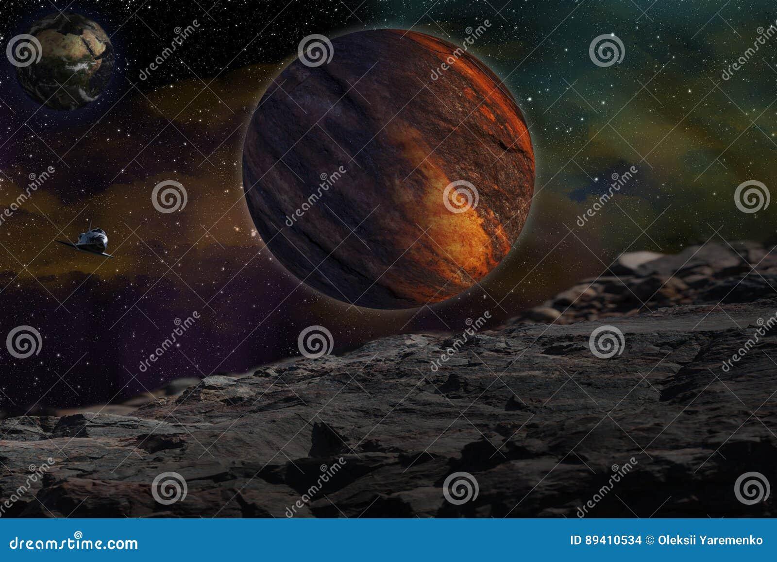Studieren von anderen Planet