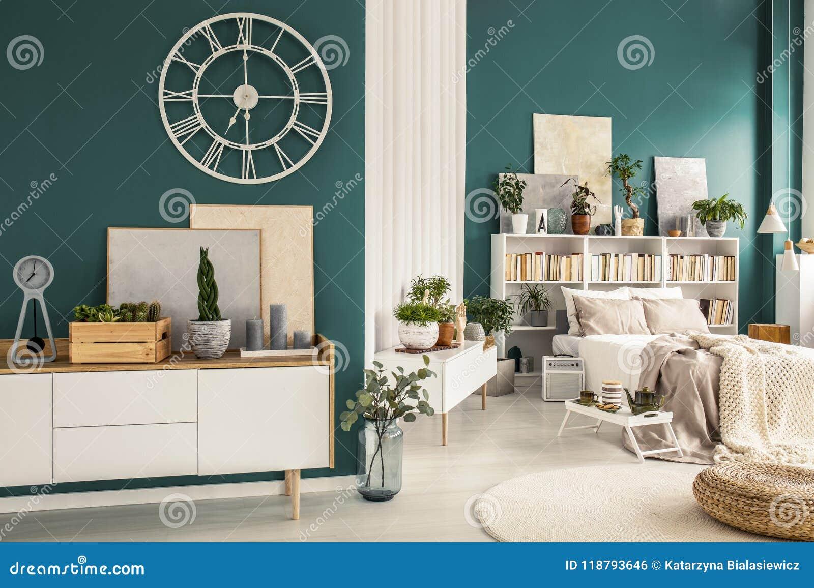 Studio Apartment With Designer Decorations Stock Photo Image Of
