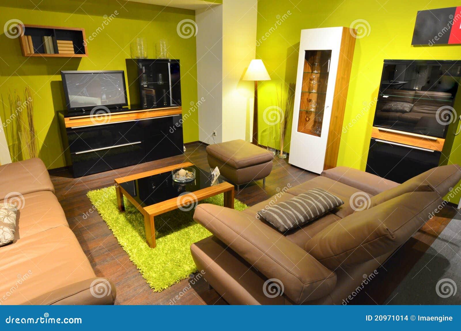 Studio Apartment Living Room Area Stock Images Image 20971014