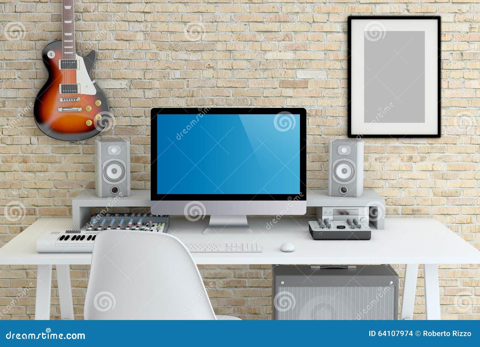 studio d enregistrement maison avie home. Black Bedroom Furniture Sets. Home Design Ideas