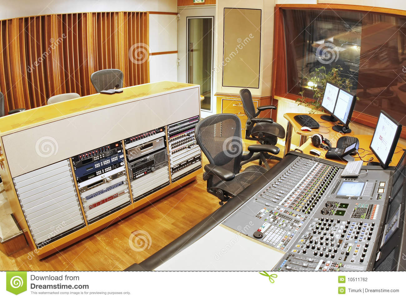 Studio d enregistrement
