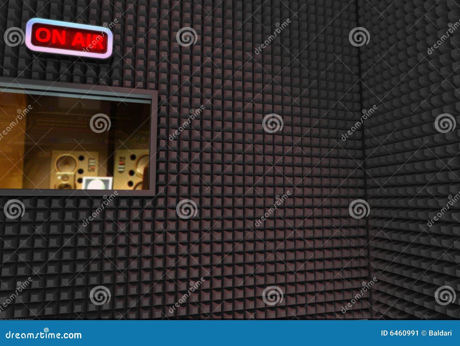 Studio di registrazione immagine stock immagine di suono 6460991 - Studio di registrazione casalingo ...
