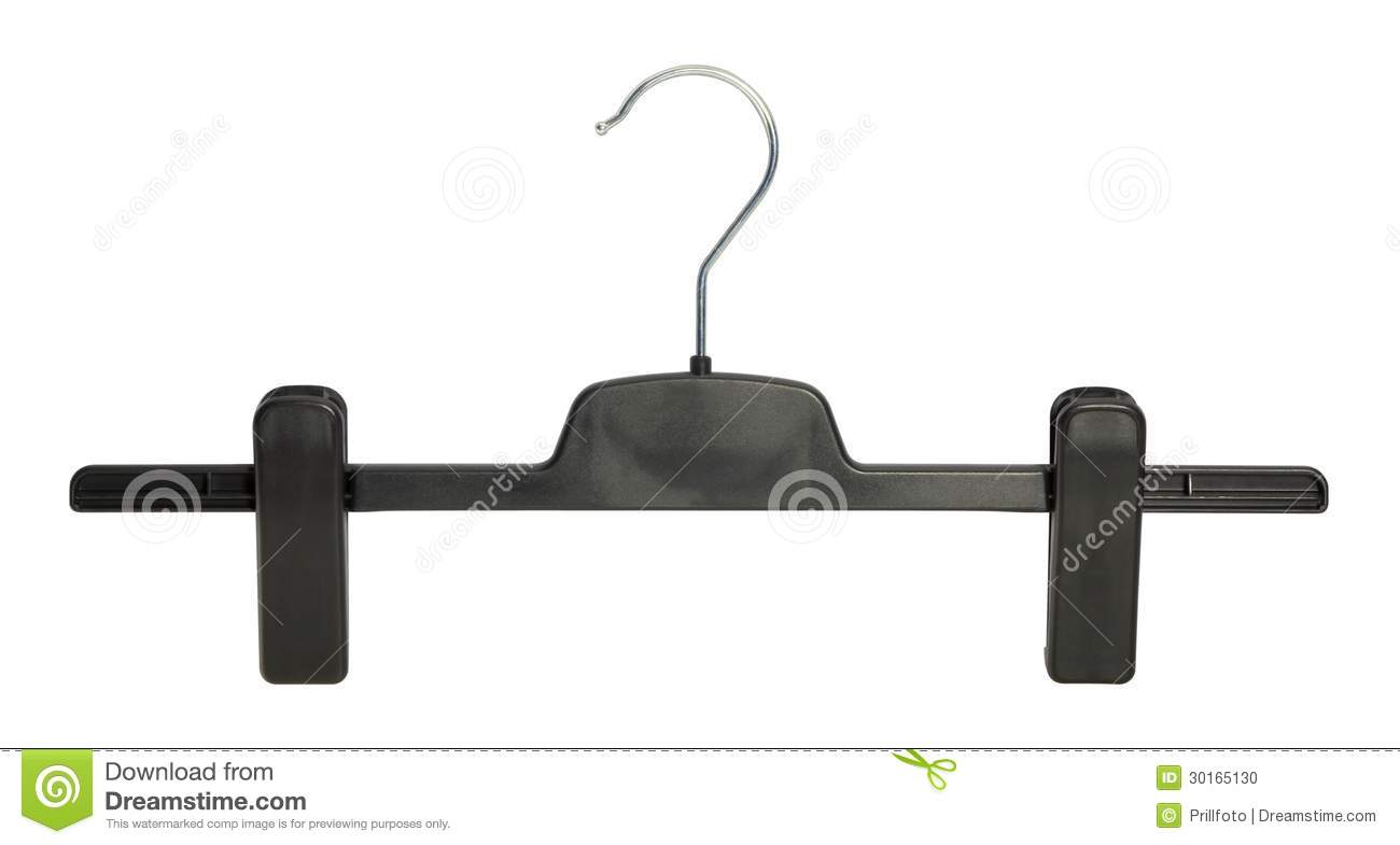 Clothes hanger stock photo image 30165130 for Clothespin photo hanger