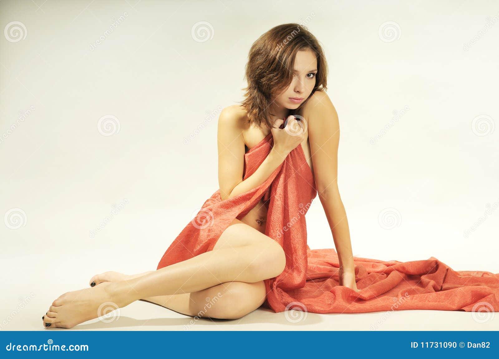 Studio portrait of a beautiful sexy young woman stock for A beautiful you at vesuvio salon studios