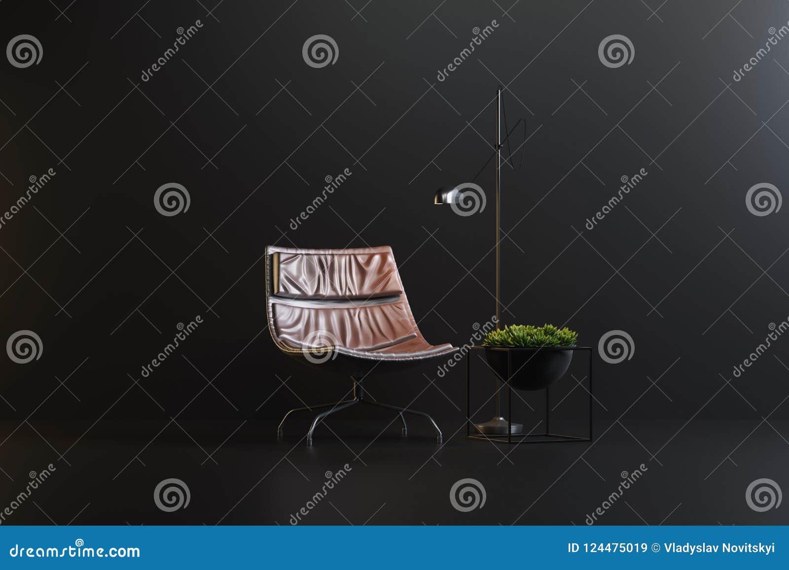 Studio setting of interior items