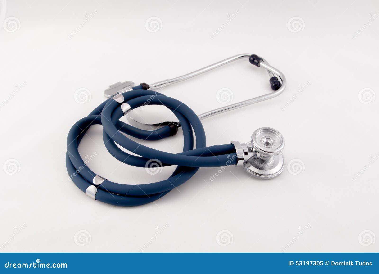 Studio sparato dello stetoscopio