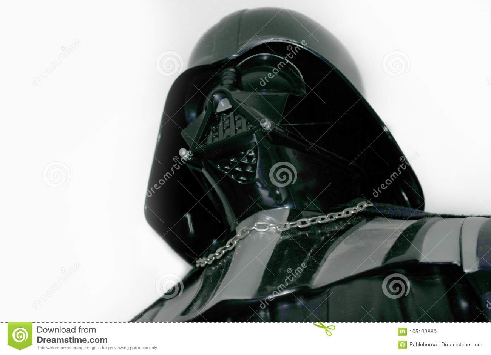 Studio strzelał Darth Vader akci postać od film serii Star Wars