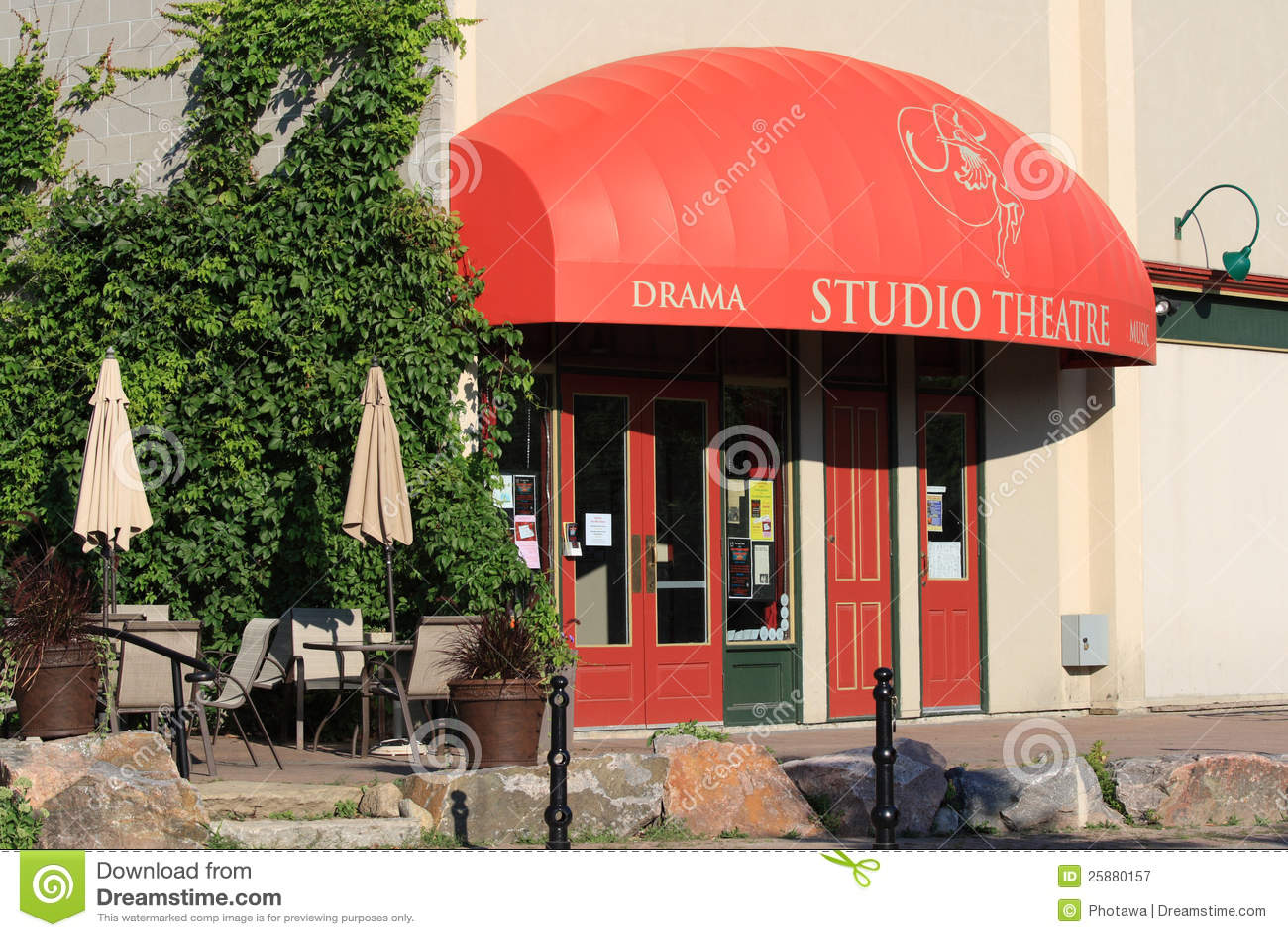 Studio Theatre in Perth editorial photography  Image of