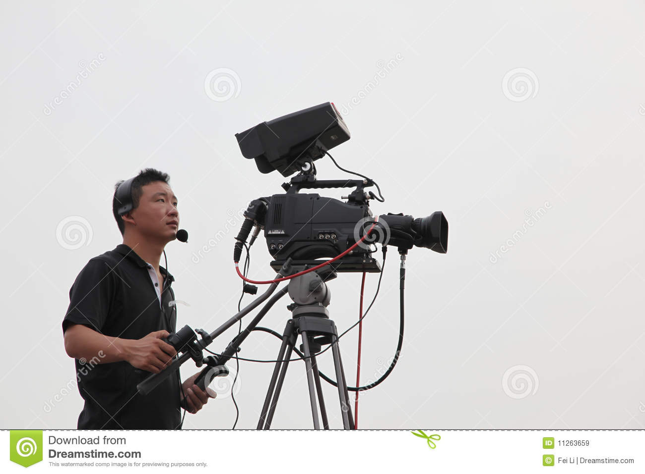 Studio tv camera stock image image of audiovisual - Tv in camera ...