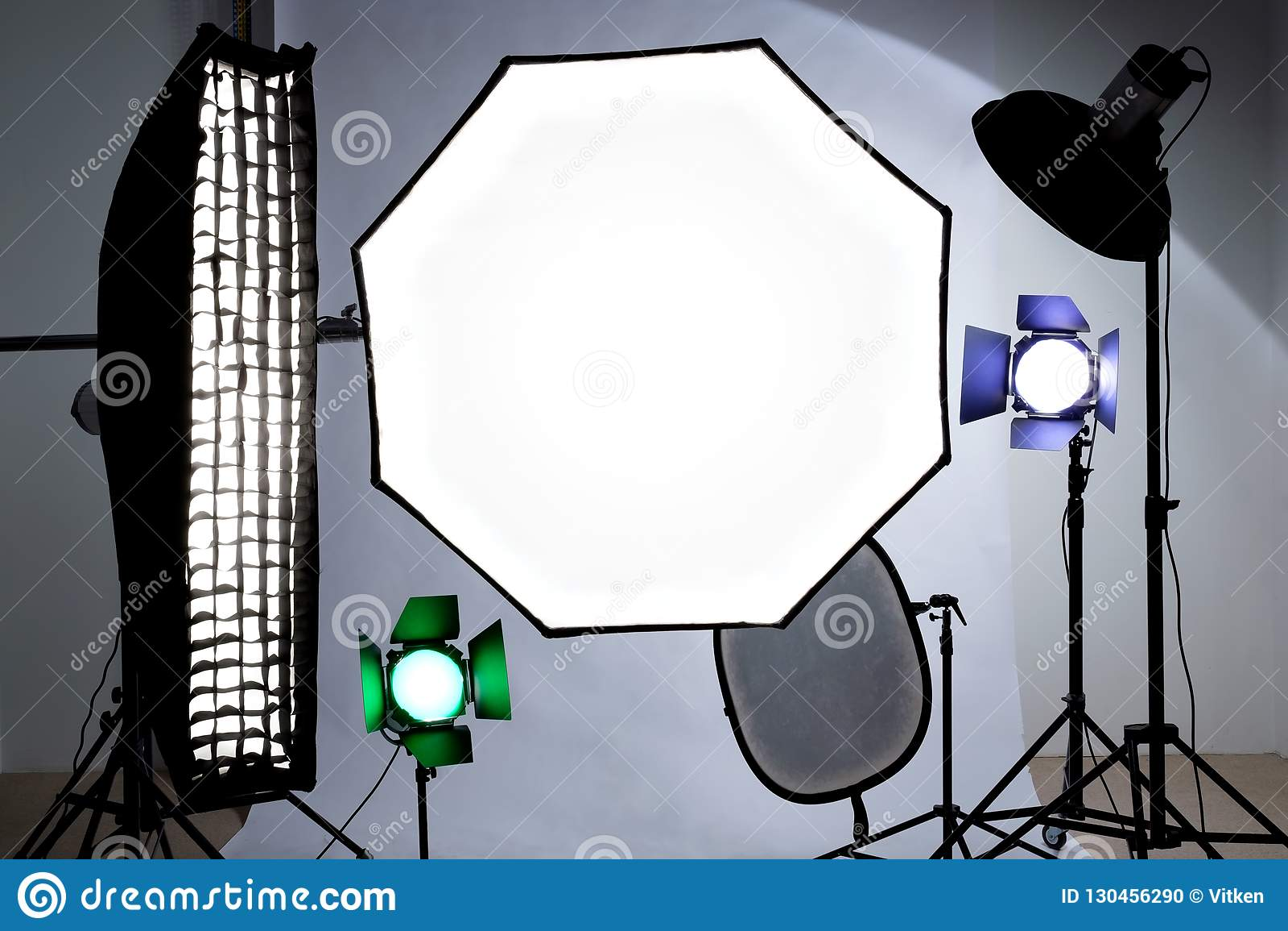Studioutrustninghjälpmedel Reflektor mjuk ask, octobox för att skjuta