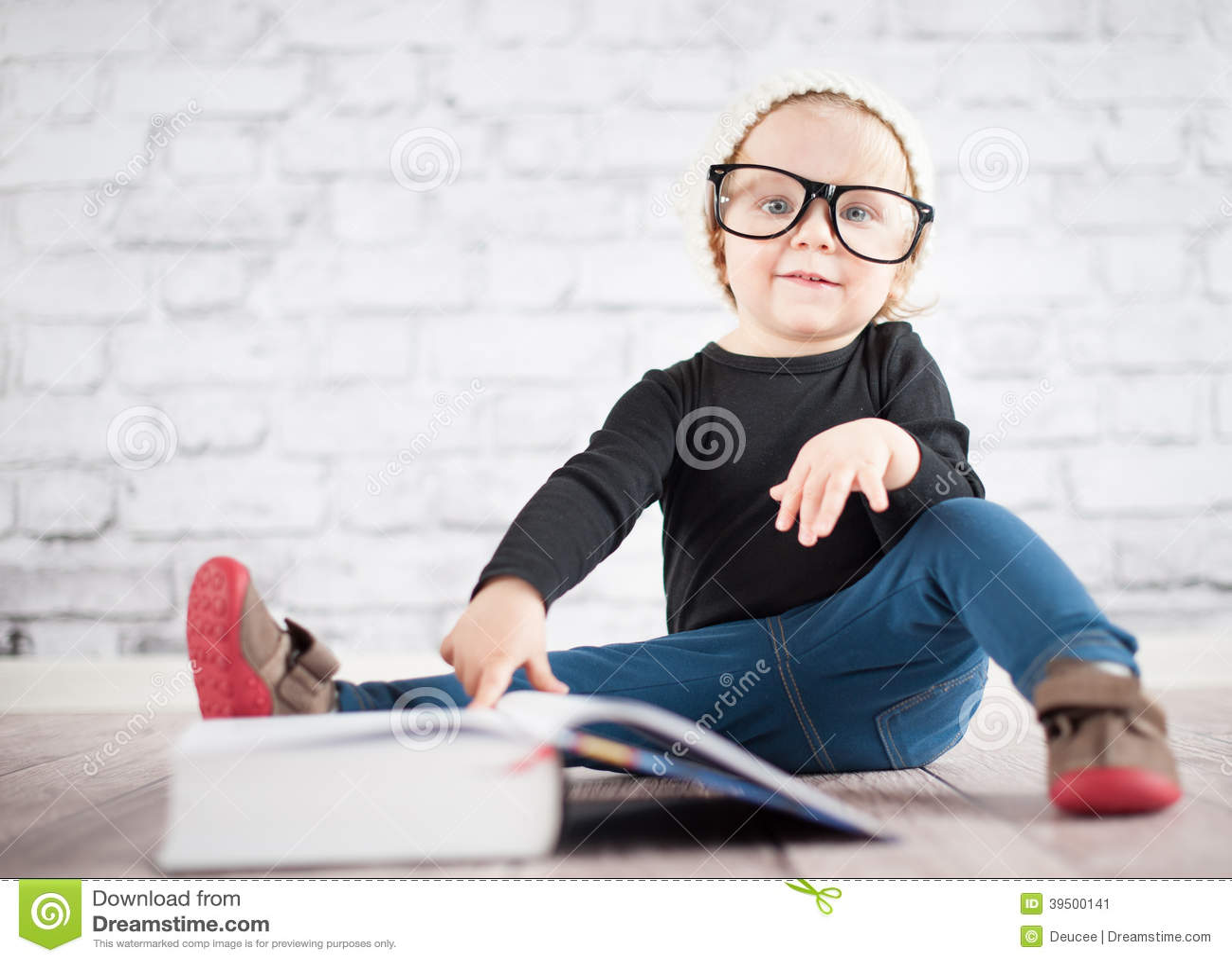 Study hard with nerd glasses