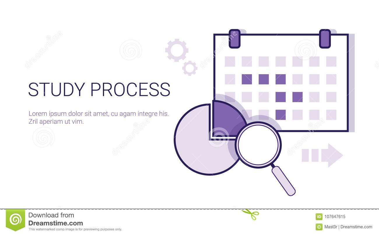 Study Process Business Analysis Concept Template Web Banner With ...