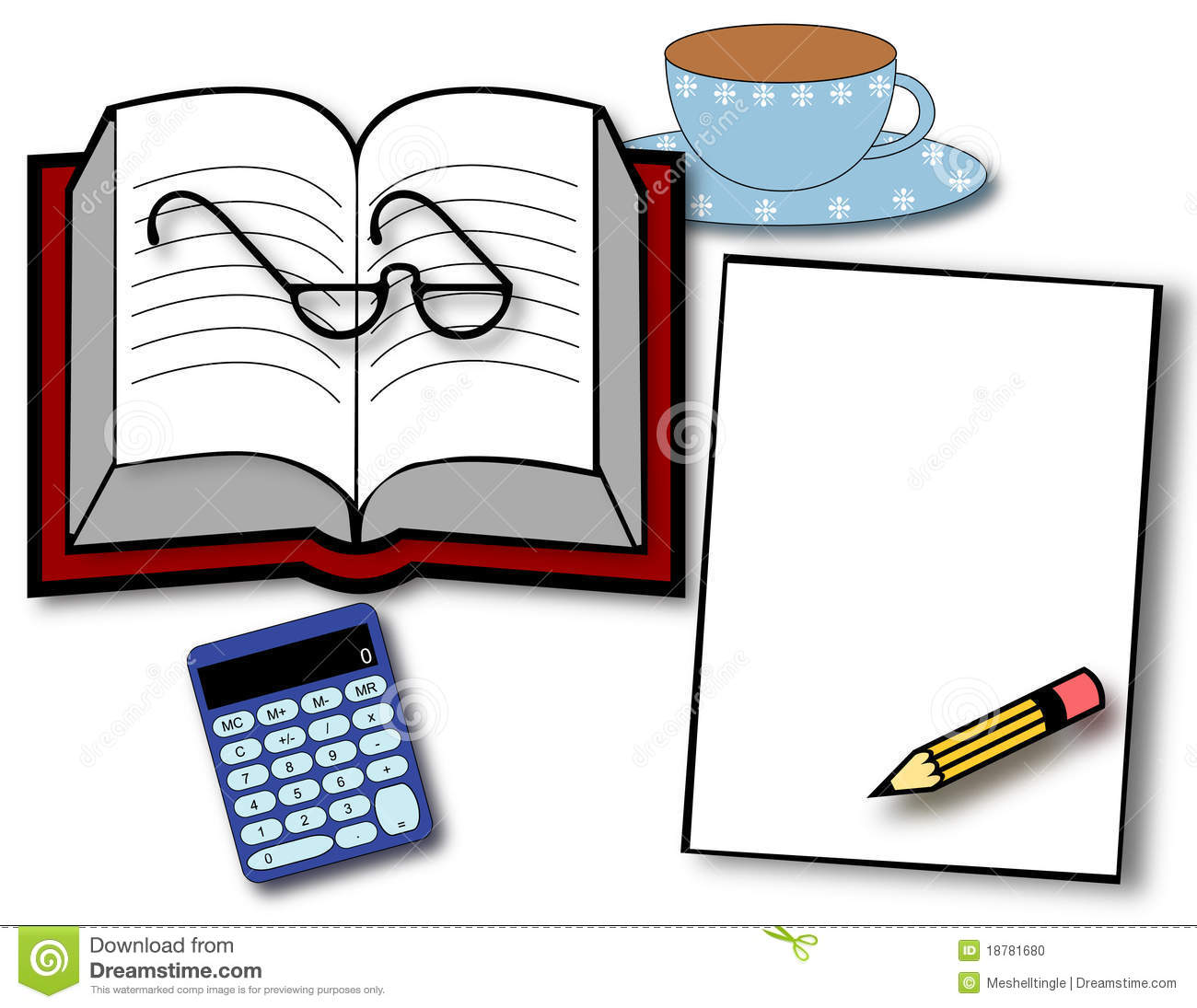 study time stock vector  illustration of pencil  business