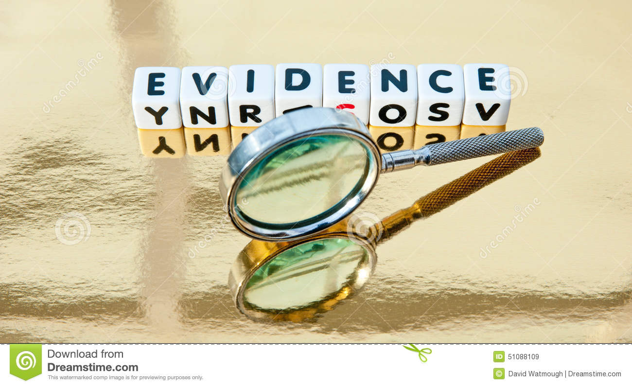 Studying the evidence
