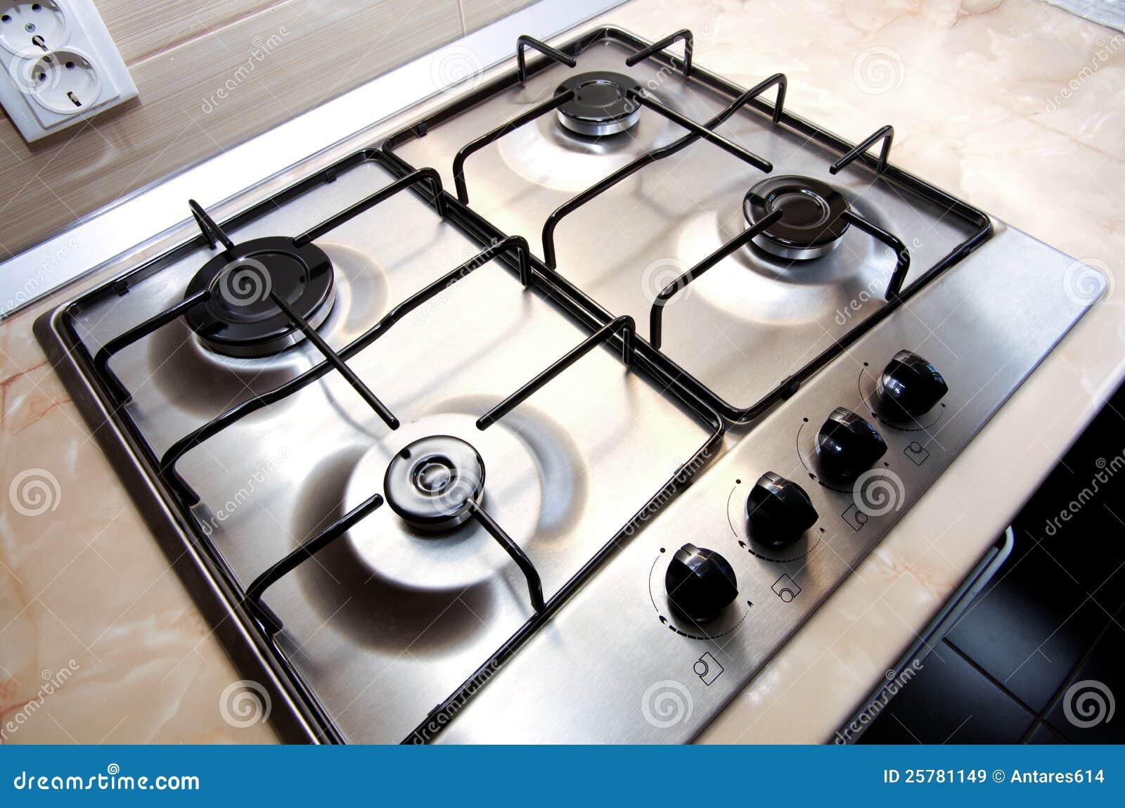 Stufa di cucina immagine stock immagine di disegno casa - Consumo gas cucina ...