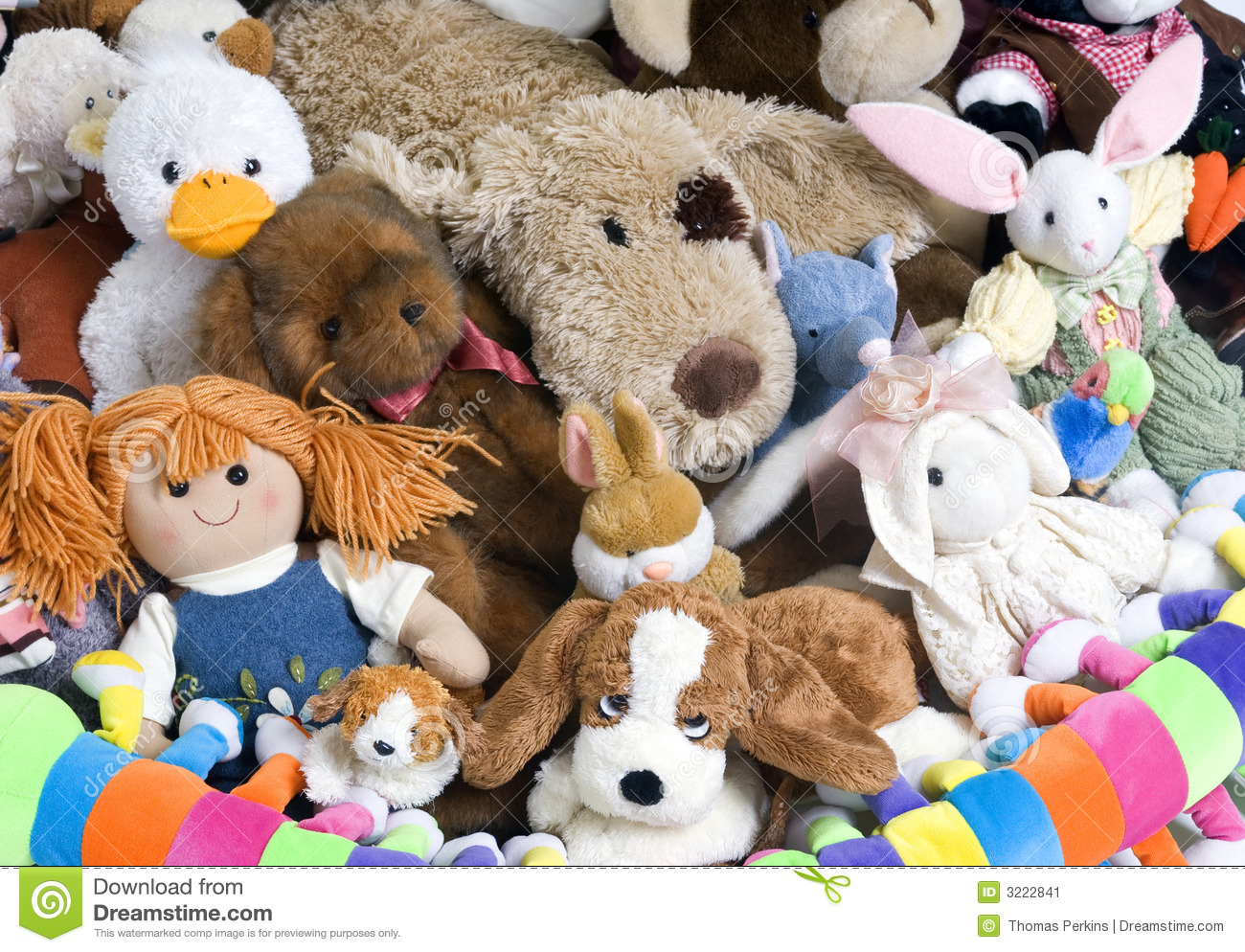 Stuffed Animals... Photoshop Icon Flat