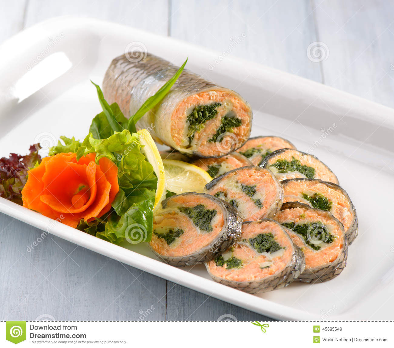 Image gallery stuffed fish for Stuffed fish fillets