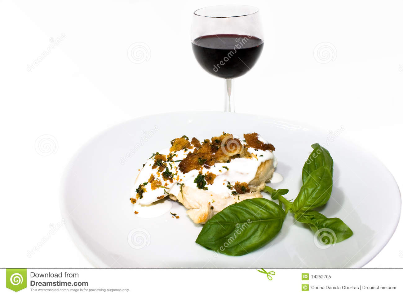 ... Drinks - French Cuisine - Stuffed Herbed Chicken With Boursin Cheese