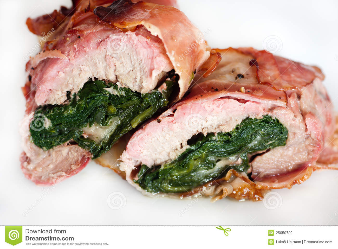 Stuffed pork tenderloin royalty free stock images image 25050729