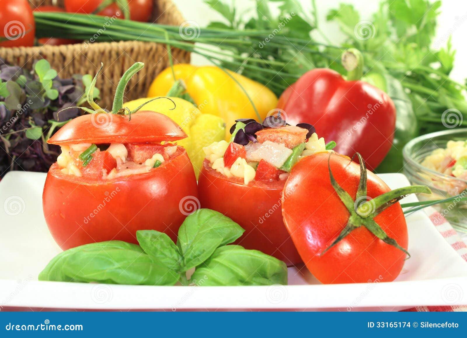Stuffed Tomatoes Stock Images - Image: 33165174